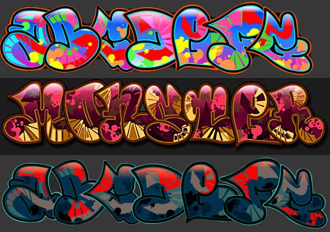 Letras de graffiti for Immagini di murales e graffiti
